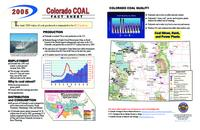 2005 Colorado coal fact sheet
