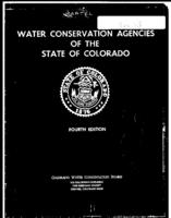 Water conservation agencies of the State of Colorado