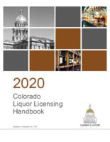 2020 Colorado liquor licensing handbook