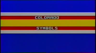 Colorado symbols