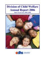 Division of Child Welfare annual report