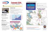 2006 Colorado coal fact sheet
