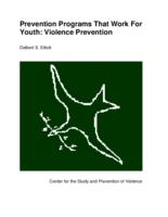 Prevention programs that work for youth : violence prevention