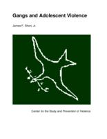 Gangs and adolescent violence