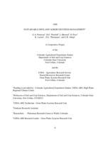 1998 sustainable dryland agroecosystem management