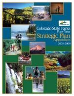Colorado State Parks five-year strategic plan, 2005-2009