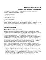 Water conservation plan development guidance document