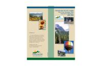 Colorado State Parks five-year strategic plan, executive summary 2005-2009