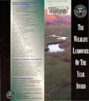 The Wildlife landowner of the year award