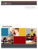Colorado academic standards. Social studies
