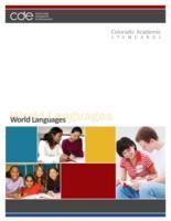 Colorado academic standards. World languages