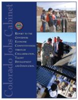 Report to the governor, economic competitiveness through collaboration, talent development and innovation