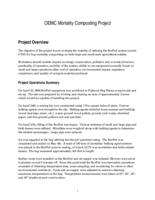 OEMC mortality composting project