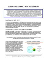Colorado juvenile risk assessment