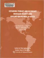 A report based on the proceedings of the Brazil-U.S. Aspen Global Forum, April 8-11, 1999