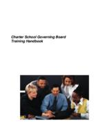 Charter school governing board training handbook