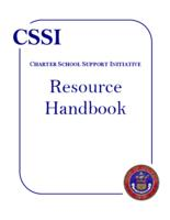 CSSI, Charter School Support Initiative, resource handbook