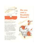 Do you own a roadside hazard?