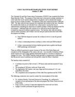 COGCC Raton Basin baseline study staff report