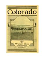 Colorado, the western slope