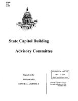Annual report FY 2002-03, State Capitol Building Advisory Committee : report to the Colorado General Assembly