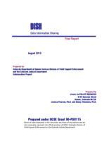 DISH, data information sharing : final report