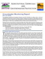 Groundwater monitoring report. San Luis Valley