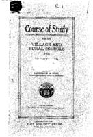 Course of study for the village and rural schools of Colorado