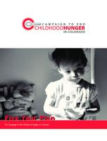 Campaign to End Childhood Hunger in Colorado five year plan