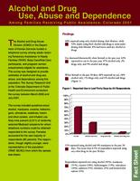 Alcohol and drug use, abuse and dependency among families receiving public assistance, Colorado 2001