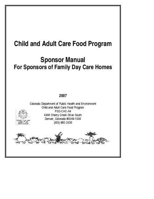 Adult sponsor program
