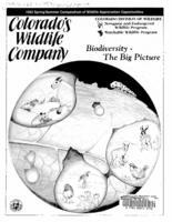 Biodiversity, the big picture